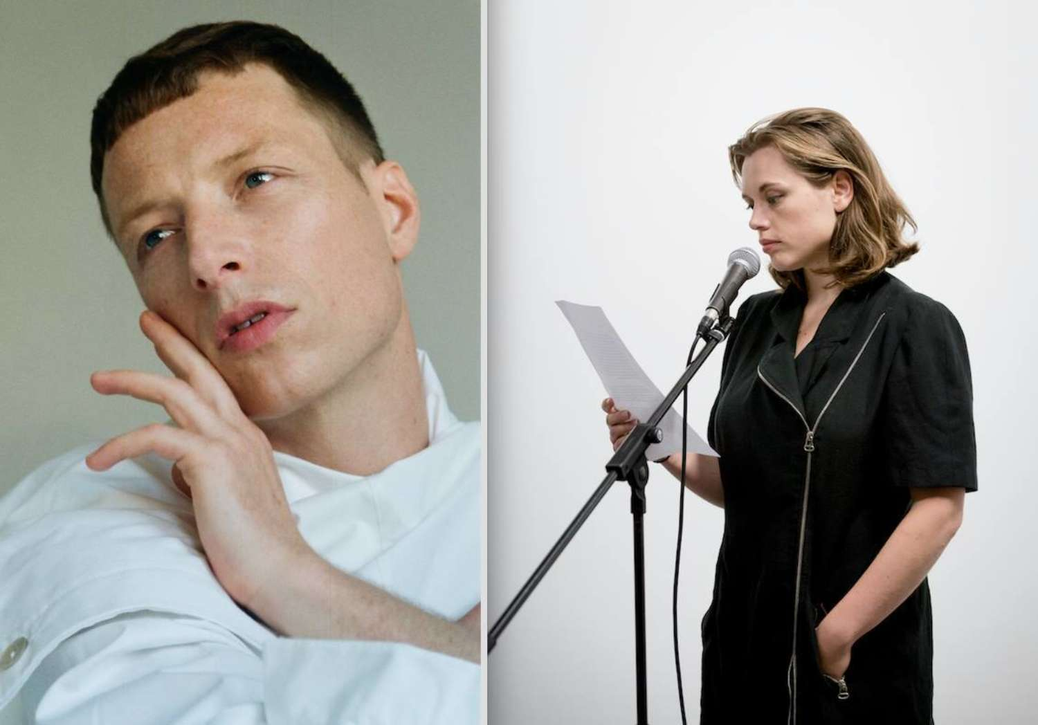 Hanne Lippard and Bendik Giske – A performative dialogue
